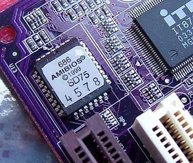 Как прошить или восстановить BIOS