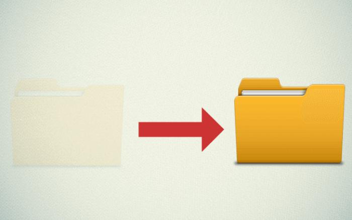 Как сделать невидимую папку