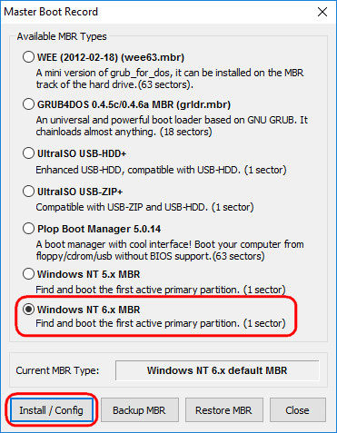 Как удалить Linux, установленную рядом с Windows, и вернуть загрузчик последней