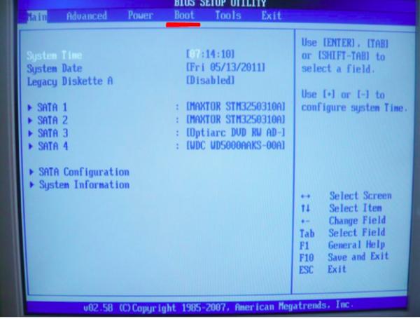Как установить Виндовс на компьютер с флешки