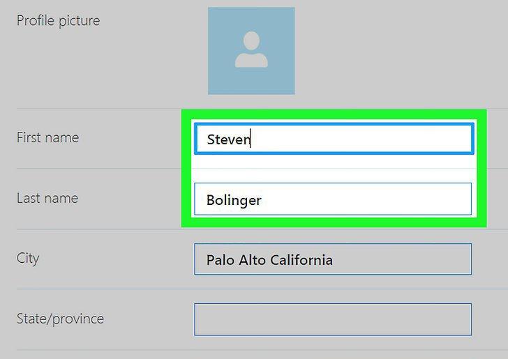 Как в Скайпе поменять имя