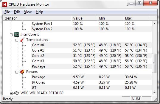 Какая температура процессора считается нормальной для компьютера