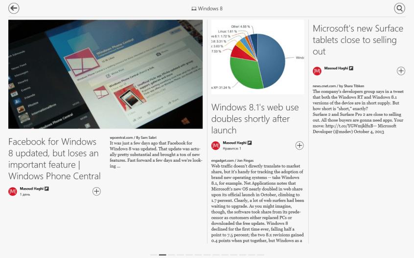 Приложение Flipboard вышло на Windows 8.1 и RT