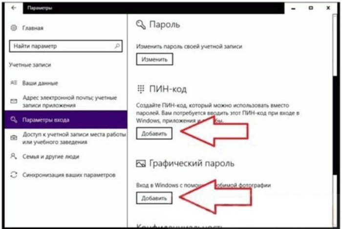 Как установить на ноутбук пароль