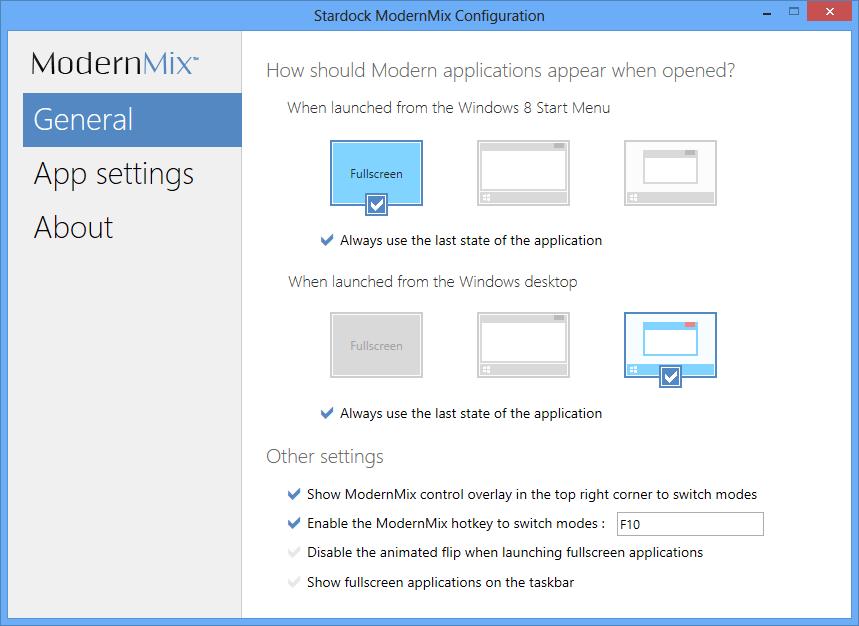 Stardock ModernMix – лучшее решение для запуска приложений из Магазина Windows в оконном режиме