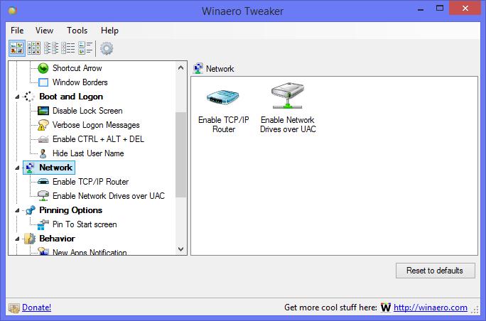 WinAero Tweaker: инструмент «все-в-одном» для настройки Windows